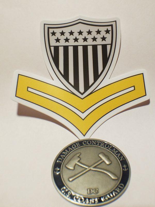 uscg petty officer 2nd class sticker