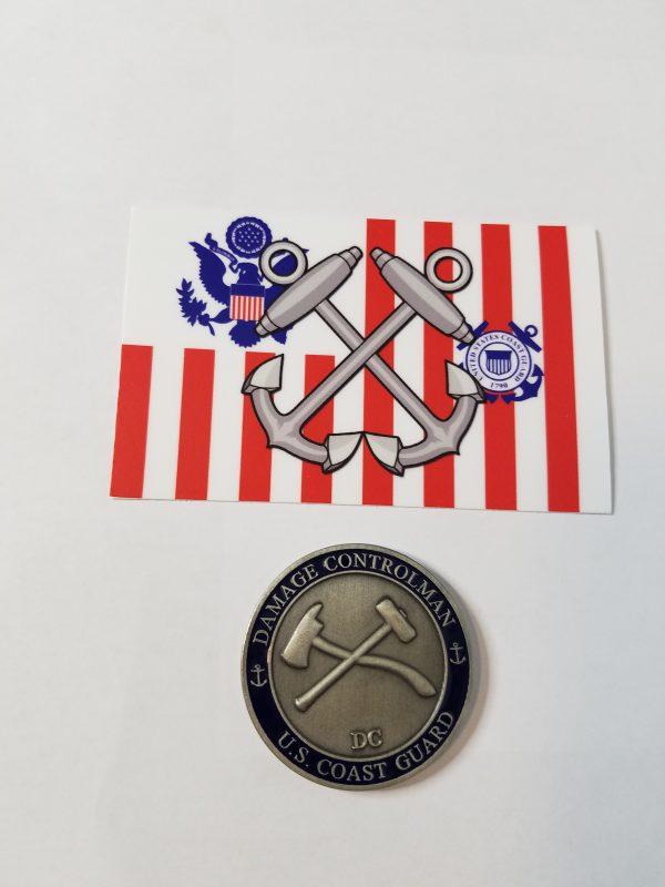 Boatswain Mate / Coast Guard Ensign Sticker USCG Coast Guard Coastie Sticker Salty For You