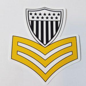 USCG 1st Class petty officer sticker USCG Coast Guard Coastie Sticker Salty For You