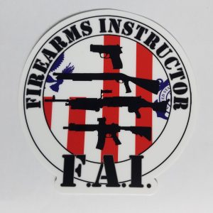 coast guard FAI sticker
