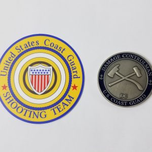 uscg shooting team sticker