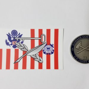 culinary specialist sticker uscg with Racing Stripe USCG Coast Guard Coastie Sticker Salty For You