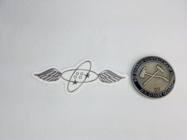 """Avionics Electrical Technician 4"""" Sticker AET uscg coast guard"""