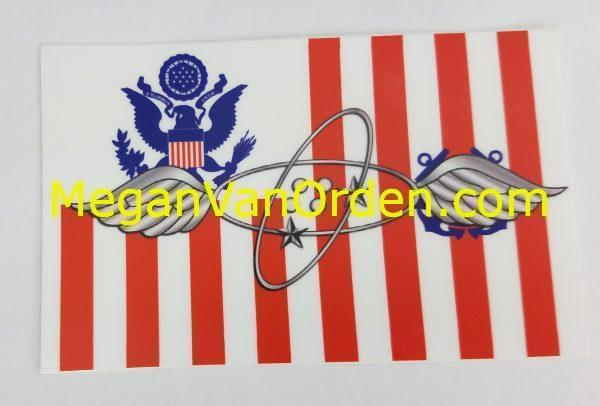 Avionics Electrical Technician Musician uscg sticker - coast guard