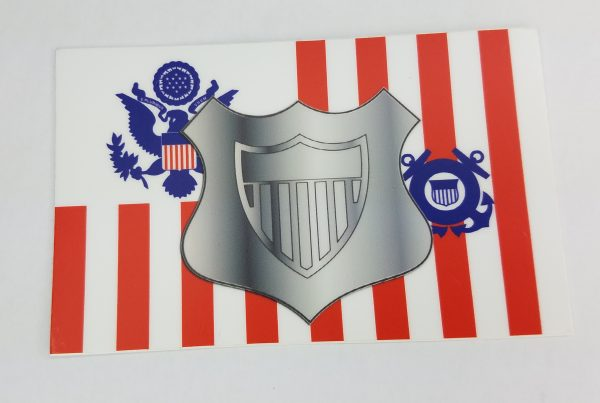 maritime enforcement specialist uscg sticker - coast guard