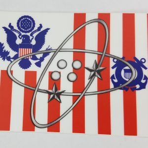 Electronics Technician sticker on uscg
