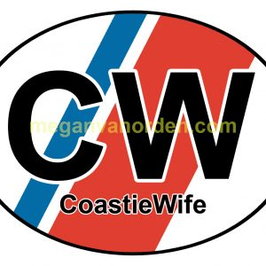 coastiewife - sticker- uscg- coast guard - website
