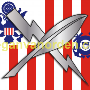 is-coast_guard_ensign_no coast guard words - - uscg - sticker Intelligence specialist