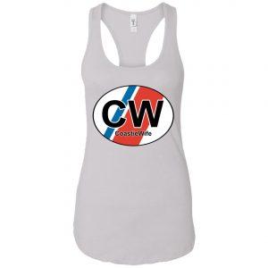 Coastie Wife Oval USCG tshirt