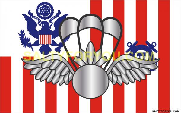 ast coast guard ensign with Racing Stripe USCG Coast Guard Coastie Sticker Salty For You