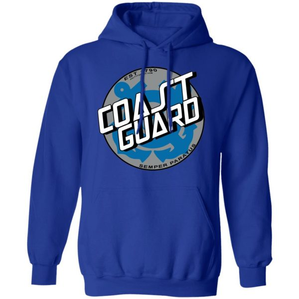 Custom USCG Hoodie Coast Guard Coastie Hoodie