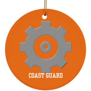 Machinery Technician USCG Christmas Ornament Coastie Coast Guard MK