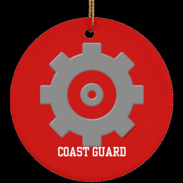 Machinery Technician USCG Christmas Ornament Coastie Coast Guard MK