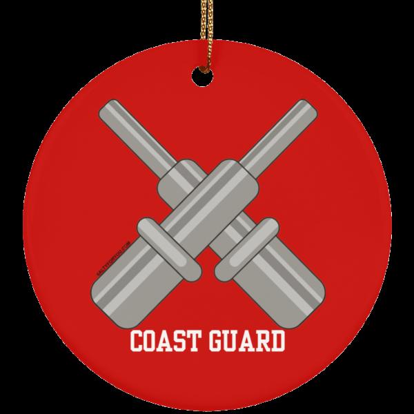 Gunners Mate USCG Christmas Ornament Coastie Coast Guard GM