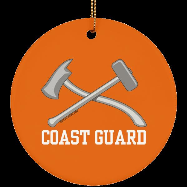 Damage Controlman USCG Christmas Ornament Coastie Coast Guard DC Damage Controlmen