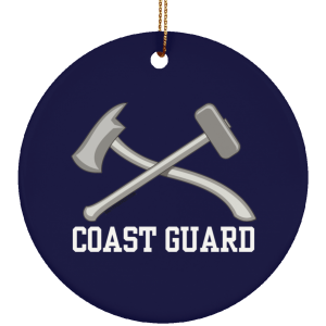 Damage Controlman USCG Christmas Ornament Coastie Coast Guard DC Damage Controlmen