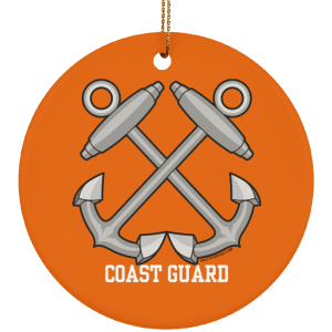Boatswain Mate USCG Christmas Ornament Coastie Coast Guard BM