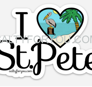 I love St Pete sticker saint petersburg