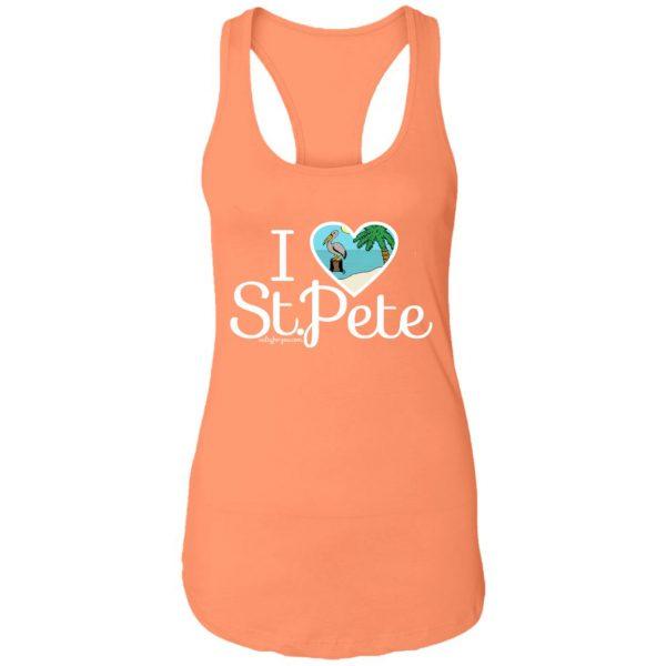 women tank top I love st.pete tshirt