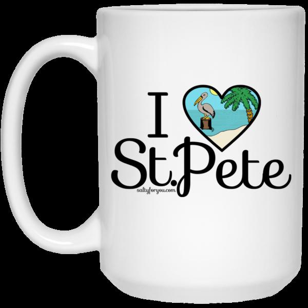 I love St Pete sticker saint petersburg coffee mug